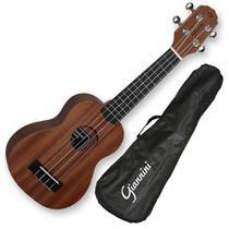 Ukulele soprano acustico giannini c/ bag guk-21 ws -