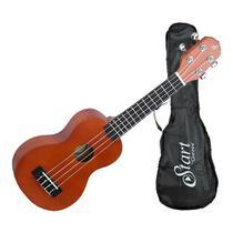 Ukulele soprano acustico giannini uks-21 ns com bag -