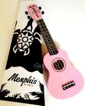 Ukulele Soprano Acústico Memphis Tagima FPK Flamingo Pink - Memphis By Tagima