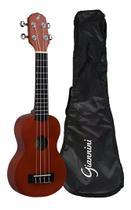 Ukulele Soprano Giannini Start UKS-21 NS Com Bag -