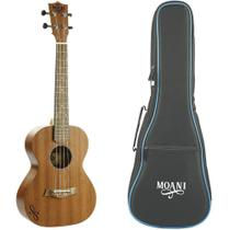 Ukulele Tenor Acústico Moani UKSS02-26 Natural Com Bag - Giannini