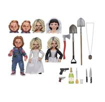 Ultimate Chucky e Tiffany - Neca O Boneco Assassino -