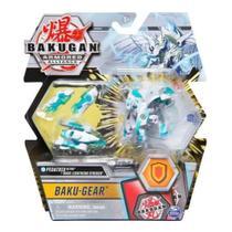 Ultra bakugan com kit de batalha - Haos Lightning Striker - 7899573620813 - Sunny