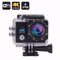 Ultra Câmera Action Go Cam Pro Sports 4k Wifi Prova D'água - Vanda