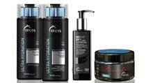 Ultra Hydration Shampoo e Condicionador e Night Spa e Máscara Miracle - Truss
