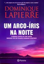 Um arco iris na noite - Planeta do brasil -