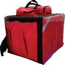 Uma Bag Bolsa Mochila Motoboy Pizza Lanche Caixa Isopor - Marcio Motos Abc