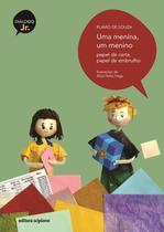 Uma Menina, Um Menino - Papel de Carta, Papel de Embrulho - Col. Diálogo Jr. - Scipione