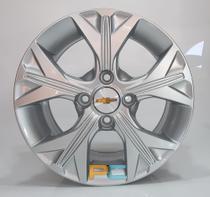 Uma Roda Aro 14x6 Chevrolet Onix, Celta, Prisma, Cobalt, Spin Krmai S21 - Prata -