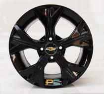 Uma Roda Aro 14x6 Chevrolet Onix, Celta, Prisma, Cobalt, Spin Krmai S21 - Preta -