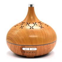 Umidificador Aromatizador Difusor Ambiente Led Bivolt= Bambo 57016 - Oksn
