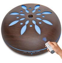 Umidificador Aromatizador Difusor De Aroma Ultrassônico Led para todos os ambientes . - Exclusivo