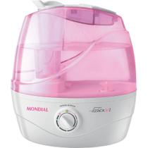 Umidificador de Ar Mondial Fashion Air 2 Nua-03 Rosa