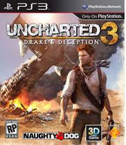 Uncharted 3: Drake's Deception - PS3 - Sony