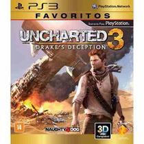 Uncharted 3: Drakes Deception - Favoritos - PS3 - Sony