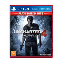 Uncharted 4: A Thief's End Hits - PS4 - Naughty dog