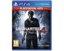 Uncharted 4: A Thief's End Hits - PS4 - Playstation