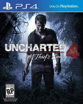 Uncharted 4: A Thief's End - PS4 - Naughty dog