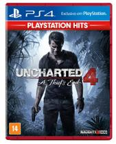 Uncharted 4 A ThiefS End Hits - PS4 - Playstation - sony brasil