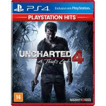 Uncharted 4 A Thiefs End - PS4 - Naughty dog