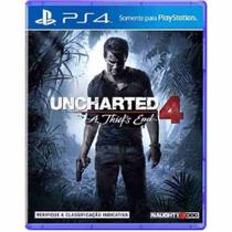 Uncharted 4 A Thiefs End - Ps4 - Sony
