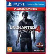Uncharted 4 hits ps 4 - Naughty dog -
