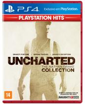 Uncharted The Nathan Drake Collection - Playstation Hits - PS4 - Sony