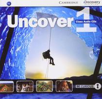 Uncover 1 class audio cd - 1st ed - Cambridge Audio Visual  Book Teacher