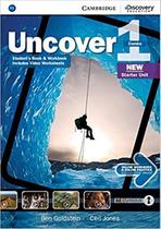 Uncover 1 full combo with online wb and online practice - 1st ed - Cambridge university