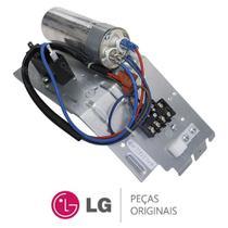Unidade de Controle da Condensadora (Capacitores + Terminal) Ar Condicionado LG TSUH122H4W0 -