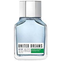 United Dreams Go Far Benetton Eau de Toilette - Perfume Masculino 100ml -