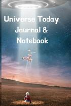 Universe Today Journal & Notebook - Inge baum -
