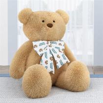 Urso Bege Gigante com Laço Carrinhos 1m Grão de Gente -
