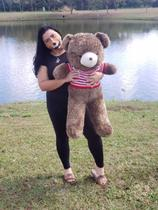 Urso de Pelúcia Gigante - 1m - Marrom - Asafe Presentes