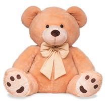 Urso de Pelúcia Gigante - Charles - Caramelo - 80 cm - Buba -