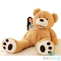 Urso de Pelucia Gigante Teddy com 1 metro e 50cm 1,5 metro Cheio - Has Brasil