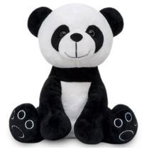 Urso de Pelúcia Panda Antialérgico Baby e Decoração Pandinha bebê de 25cm - Buba