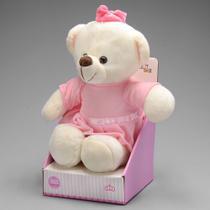 Urso De Pelúcia Princesa 25 Cm Unik Toys -