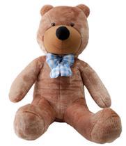 Urso Gigante De Pelucia Teddy Bear 1,1 Metro (110cm) Cheio Marrom - Ursos e Pelúcias