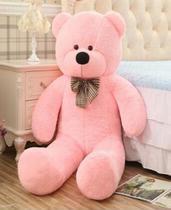 Urso Gigante De Pelucia Teddy Bear 1,1 Metro (110cm) Cheio - Ursos e pelucias