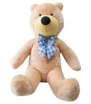 Urso Gigante De Pelucia Teddy Bear 1,1 Metro (110cm) Cheio - Ursos E Pelúcias