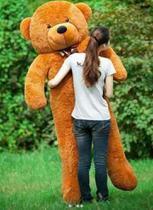 Urso Gigante De Pelucia Teddy Bear Gigante 2 Metros 200 cm Cheio - Ursos e pelucias