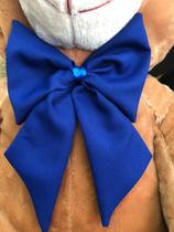 Urso Gigante Pelúcia Grande Teddy 1,10 Metros - Mel com Laço Azul - Doce mel bebe