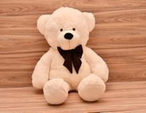 Urso Gigante Teddy Bicho De Pelúcia 110 Cm Laco Café - Davi Baby Enxovais