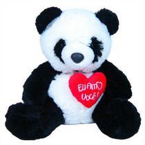 Urso Panda c/ Coração - 313 Toys -