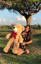 Urso Teddy Gigante 110cm - Magnababy