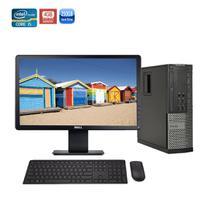 USADO: Computador Completo Dell SFF 7010 Core i5 3 Geração 8gb Hd 500gb + Monitor 18'5 + Wi-fi -