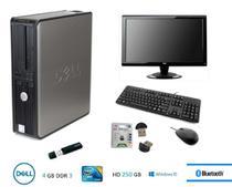 Usado: Computador Dell 780 - IntelCore 2duo - 4gb Ram - 250 Gb Hd + Wifi e Bluetooth -