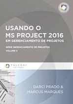 Usando o ms-project 2016 em gerenciamento de projetos - Falconi