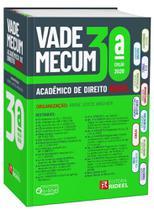 Vade Mecum Academico De Direito - 2020 - Rideel - 30 Ed - Ed Rideel Ltda